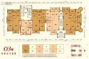 嘉泰华府3室2厅2卫82--214平方米户型图