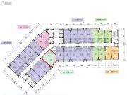 融创前海中心1室0厅0卫55平方米户型图
