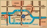 汇锦金融中心交通图