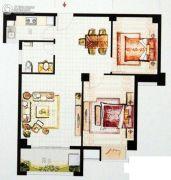 康桥丽景2室2厅1卫0平方米户型图