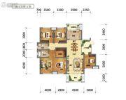 国鑫凤垭山5室2厅2卫159平方米户型图