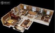 中建尚城3室2厅2卫125平方米户型图