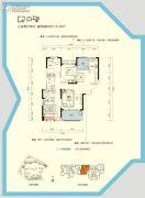 三一歌雅郡3室2厅2卫115--116平方米户型图
