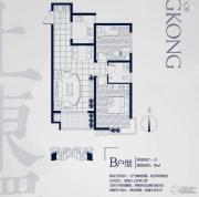 永邦天汇2室1厅1卫89平方米户型图