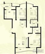 星河御城3室2厅2卫138平方米户型图