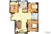 阳光首院3室2厅1卫99平方米户型图