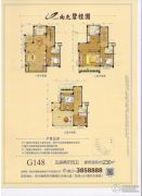 南充碧桂园5室2厅4卫230平方米户型图