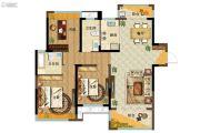 新力象湖湾3室2厅2卫110平方米户型图
