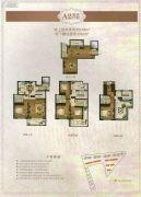 月城熙庭216平方米户型图