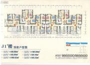 嘉信安居印象四期564平方米户型图