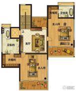 颐和山庄2室1厅2卫0平方米户型图