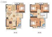 武汉锦绣香江4室2厅3卫128平方米户型图
