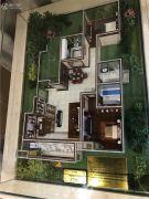 朗香书院2室2厅2卫130平方米户型图