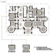 沈阳星河湾5室3厅6卫690平方米户型图