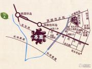 香榭里花园交通图