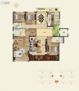 怡海龙湖壹号5室3厅4卫0平方米户型图