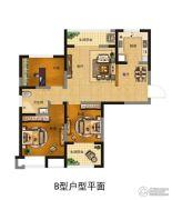 富田九鼎世家2室2厅1卫0平方米户型图