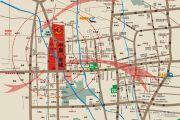 铂悦公寓交通图