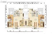 众美青城3室2厅3卫198平方米户型图