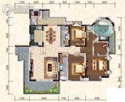 懿峰雅居3室2厅3卫212平方米户型图