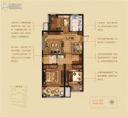 维维紫悦台3室2厅1卫0平方米户型图