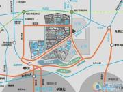 万科里城交通图