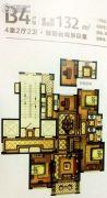 新湖广场4室2厅2卫132平方米户型图