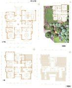 凯德麓语5室3厅5卫450平方米户型图