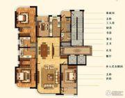 明秀庄园5室2厅3卫265平方米户型图