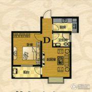 芙蓉山庄1室1厅1卫62平方米户型图