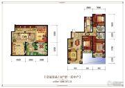 皇冠壹品5室3厅2卫259平方米户型图