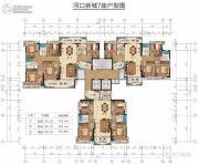 梧桐郡府5室2厅2卫137--173平方米户型图