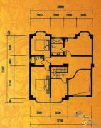 酉酉LOFT公寓2室2厅2卫83平方米户型图
