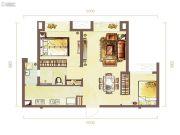 乾道一品2室2厅2卫93--98平方米户型图
