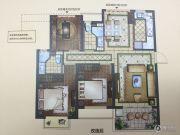 正荣悦岚山3室2厅2卫95平方米户型图