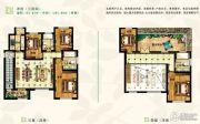 建新梧桐墅5室2厅3卫0平方米户型图