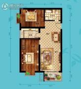 北海・水印泉山2室2厅1卫101平方米户型图