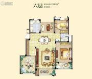 融侨观邸3室2厅1卫108平方米户型图