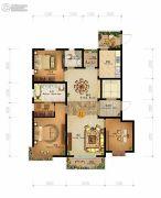 燕港美域3室2厅2卫136平方米户型图