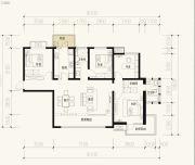 保利天禧3室2厅2卫164平方米户型图