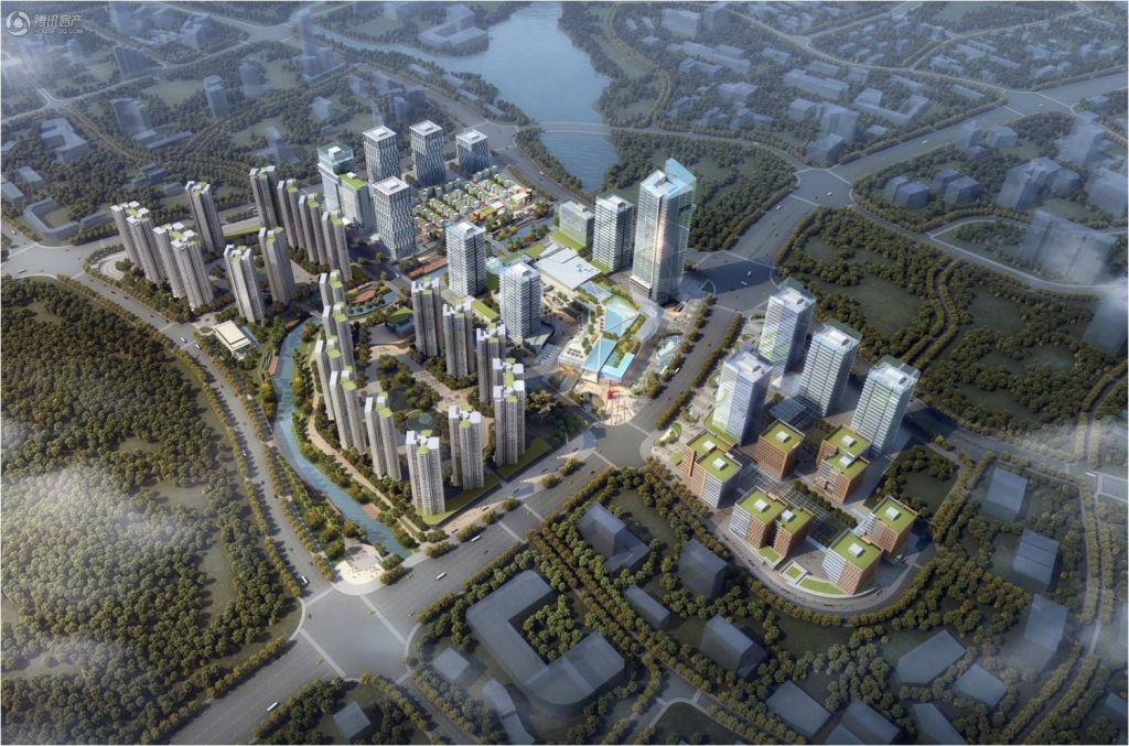 广州绿地城效果图