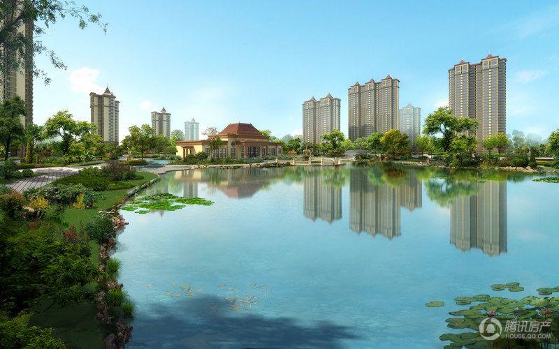 龙溪城景观效果图