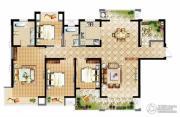 中建溪岸观邸4室2厅2卫182平方米户型图