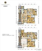凤凰谷6室4厅6卫511平方米户型图