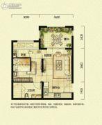 上邦高尔夫国际社区1室1厅1卫0平方米户型图