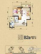 渝开发上城时代1室1厅1卫57平方米户型图