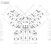 恒大雅苑0平方米户型图
