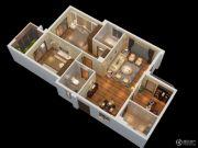 燕南山庐3室2厅2卫118平方米户型图
