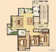 锦江城3室2厅2卫143平方米户型图