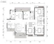 方直星耀国际5室2厅3卫167平方米户型图